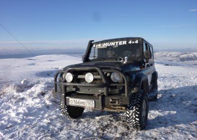 плато Чатыр-Дага зимой