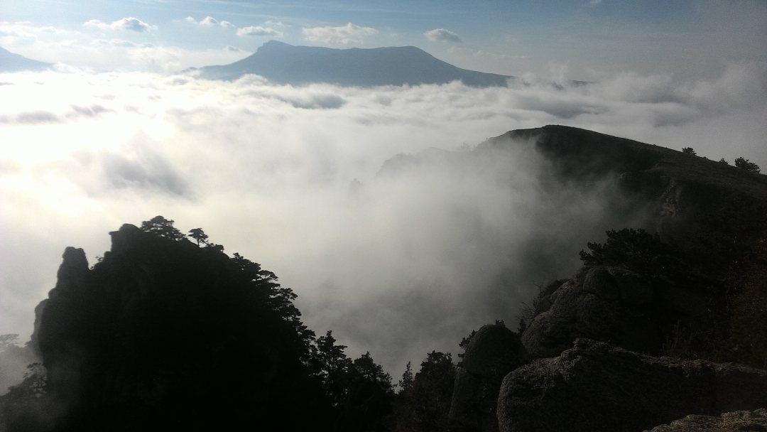 Демерджи в облаках