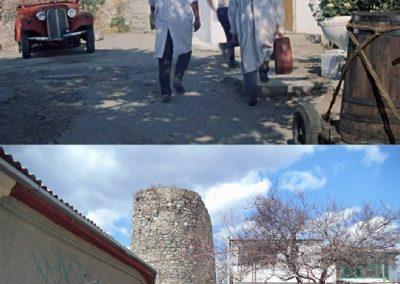 дача Саахова, генуэзская башня