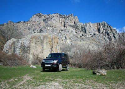 Уаз патриот - прогулки на джипах в Крыму