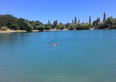 купание в Бирюзовом озере
