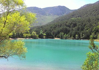Бирюзовое озеро - джип туры в алуште