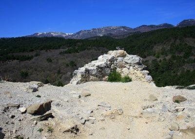 остатки Храма на Красном камне