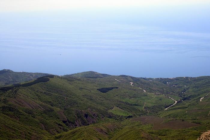 Демерджи панорама на побережье