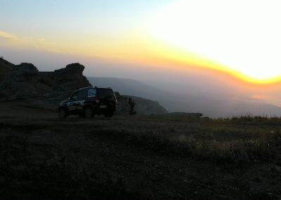 путешествие на джипе в Алуште