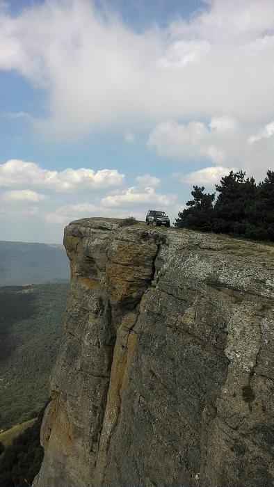 путешествие на джипе по горному Крыму