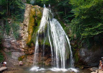 экскурсия на джипах к водопаду джур-джур