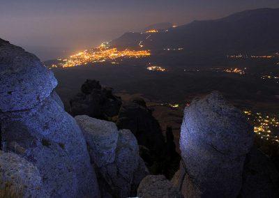 Вершина Демерджи - ночь