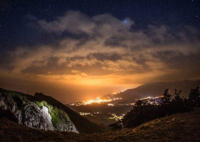 Джиппинг ночью