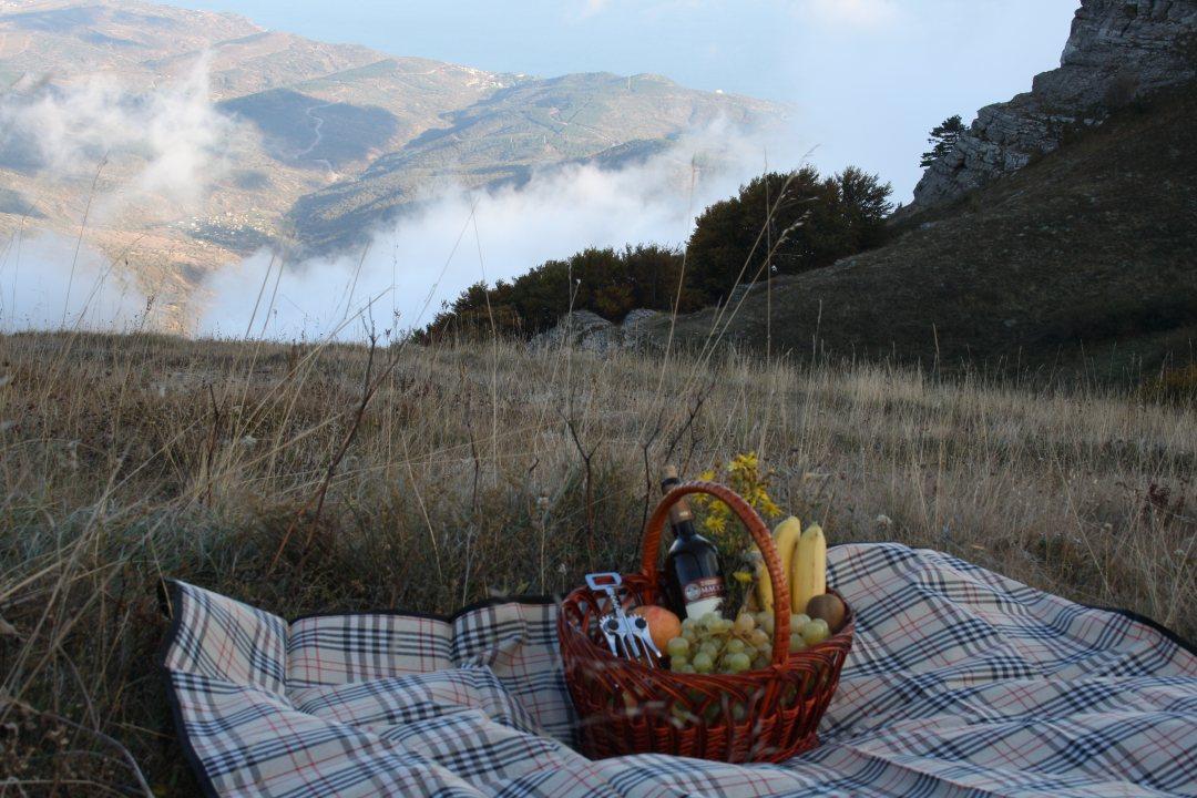 Демерджи пикник с видом на море