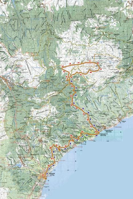 маршрут джип тура на гору демержди