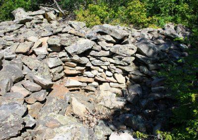 остатки римских укреплений
