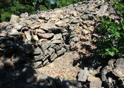 остатки римского укрепления