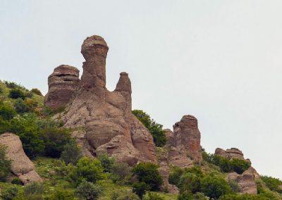 каменные столбы Долины привидений
