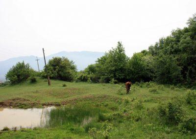место оборонительного турецкого вала