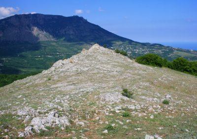 вершина скалы Пуан-Хыр