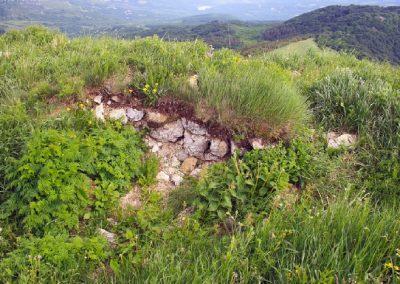 остатки Храма на Лысом Иване