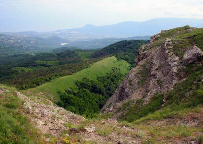 панорама на Алушту