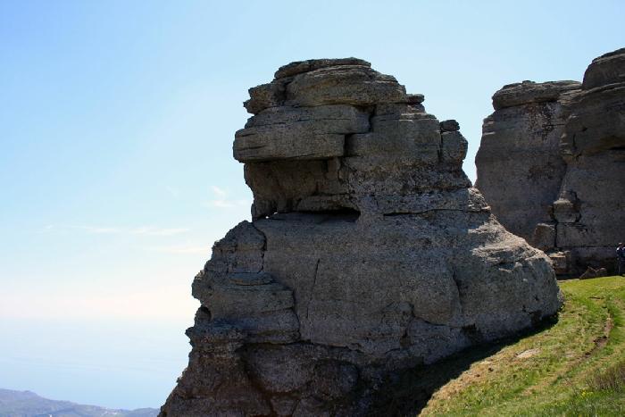 горный пейзаж Демерджи