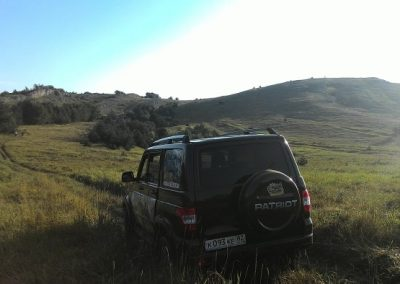 Демерджи-Яйла путешествие на джипе