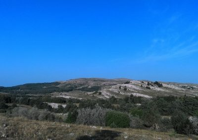 каменное море на Демерджи-Яйла