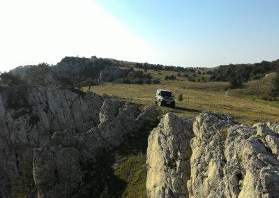Путешествие на джипе в горы Крыма