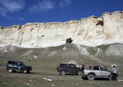 фото белая скала - прогулки на джипах в крыму