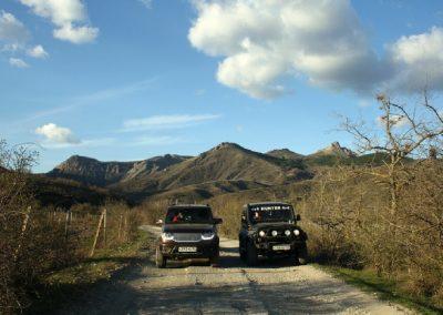 дорога на Приветненский перевал
