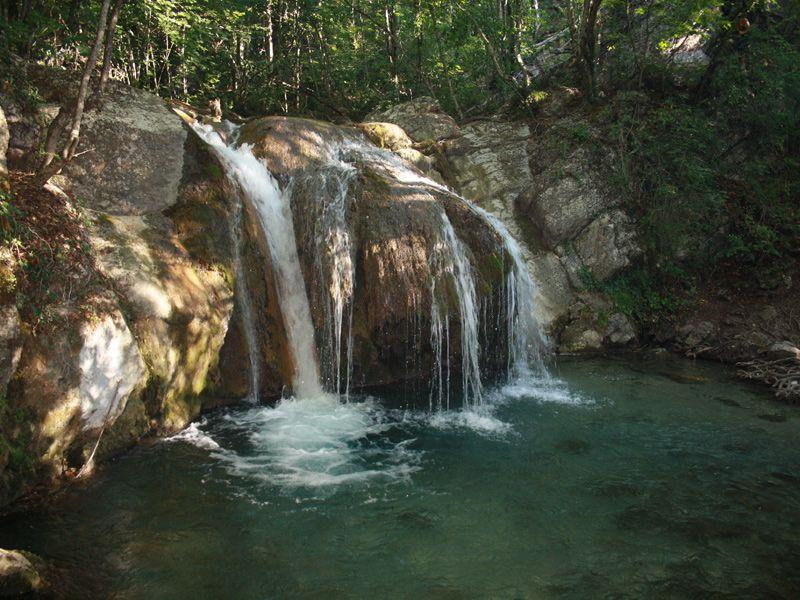 фото водопад джур-джур каскады