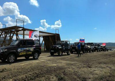 Гонка героев Крым - Пресс тур