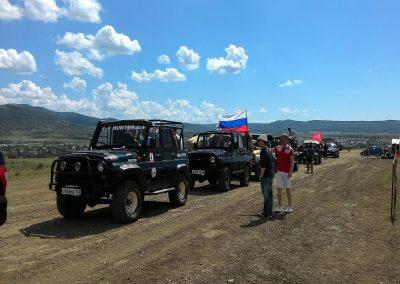 Джиппингтур - Перевальное -Гонка героев