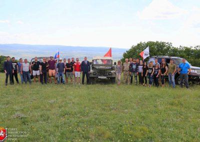 Джиппингтур на пресс туре для Совмина и журналистов Республики Крым