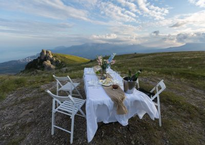Ужин в горах - Алушта гора Демерджи