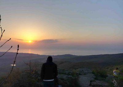 Встреча рассвета на горе ай-йори