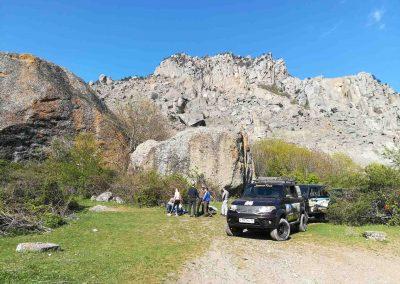 прогулки на джипе по горному Крыму